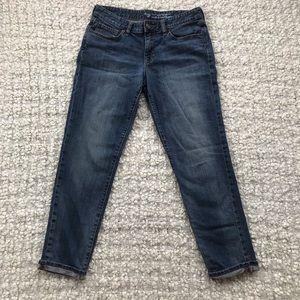 Gap Sexy Boyfriend Cropped Jeans